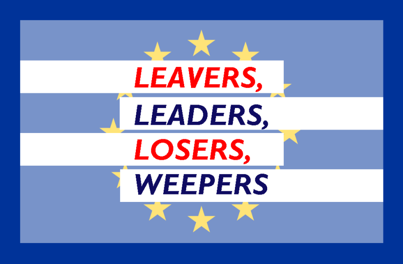 LEAVERS, LEADERS, LOSERS, WEEPERS (Where's My Irish Passport?)